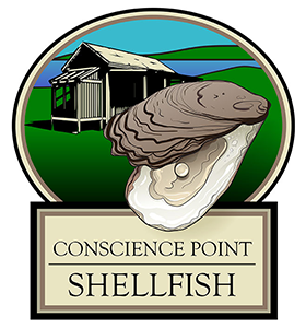 Conscience Point Shellfish Retina Logo