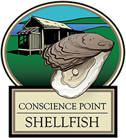 Conscience Point Shellfish Logo